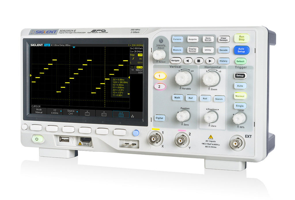 Pc Oscilloscope Software It Has An Input Protection Circuit Which