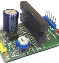 the project published here is a high performance unipolar stepper motor driver that offers pwm controlled high current output  [ 1599 x 1252 Pixel ]