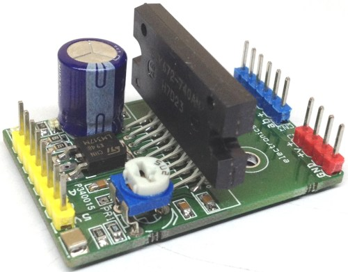 small resolution of the project published here is a high performance unipolar stepper motor driver that offers pwm controlled high current output