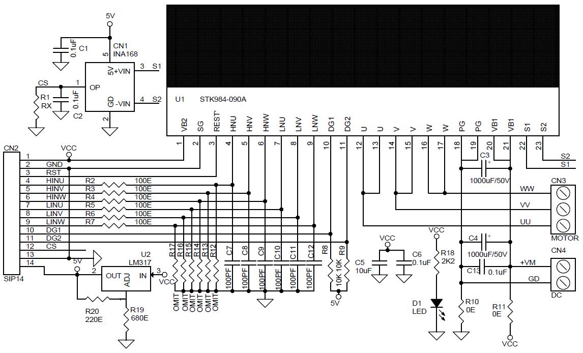 20A/40V Integrated Power Module for DC Brushless Motors