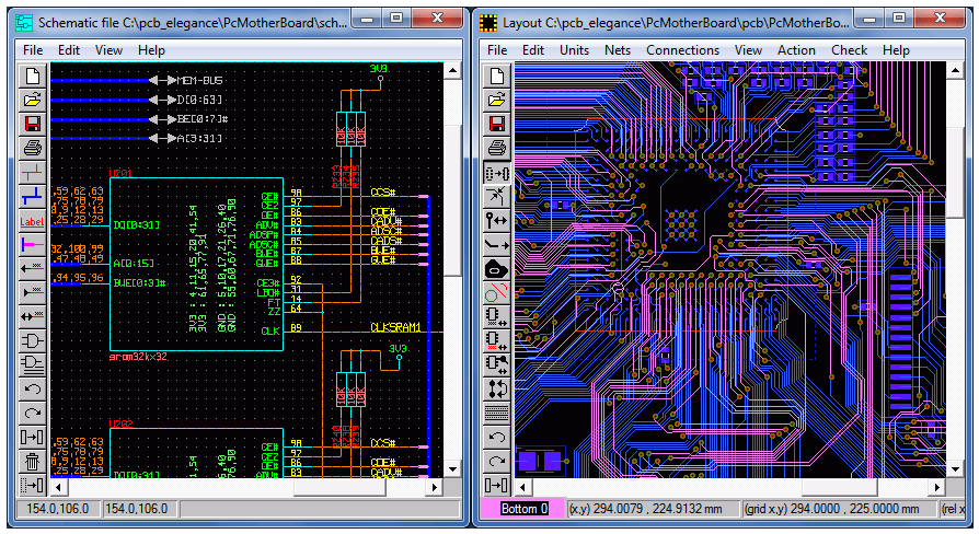 Kicad Open Source Printed Circuit Board Layout Program