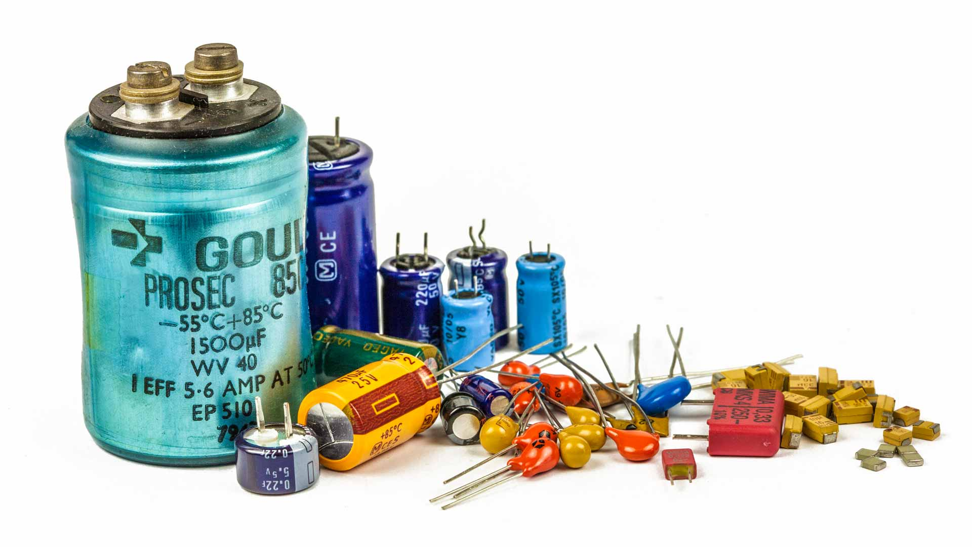 Capacitor Types Types Of Capacitor Electronics Notes