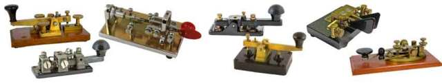 Morse Code Keys: CW Keyers » Electronics Notes