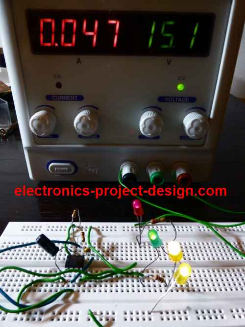 Led Flasher Electronic Circuits And Diagramelectronics Projects