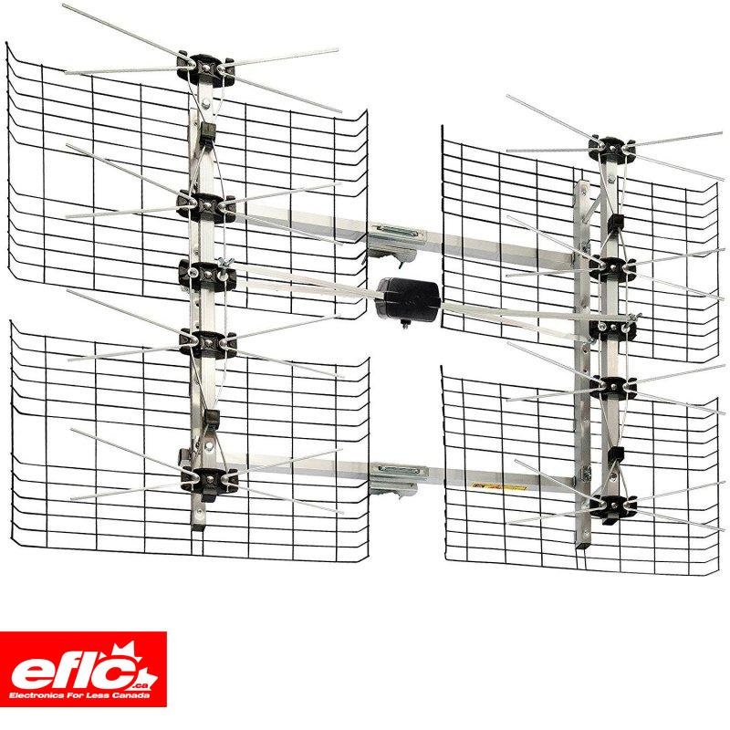 Antennas Direct DB8e 8 Element Ultra Long Range HDTV