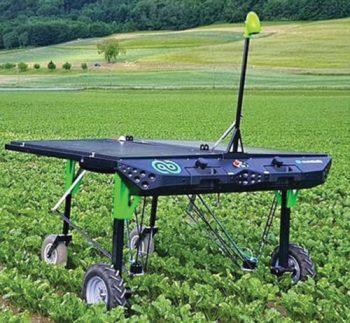 Smart weeding robot (Credit: https://en.reset.org)