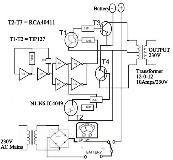 Battery Inverter Wiring Diagram : 31 Wiring Diagram Images