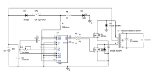 Simple 100W Inverter Circuit Diagram and Its Working