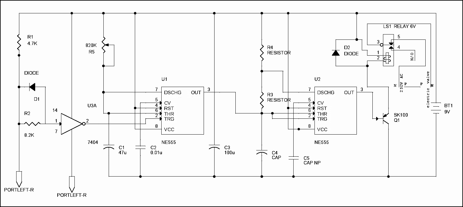 hight resolution of circuit diagram of automatic plant irrigation system