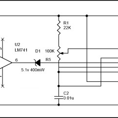 Fire Alarm Schematic Diagram External Regulator Alternator Wiring Simple Circuit Using Thermistor Germanium Diode And Lm341 Of Lm741