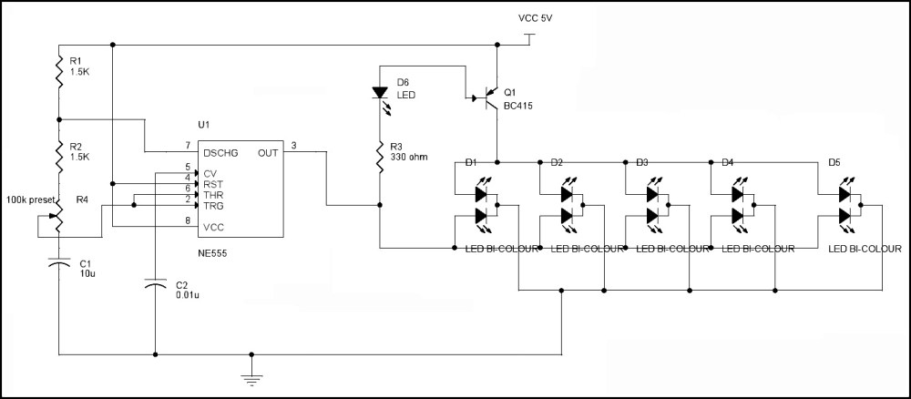 medium resolution of led flasher circuit diagram