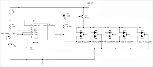 small resolution of led flasher circuit diagram