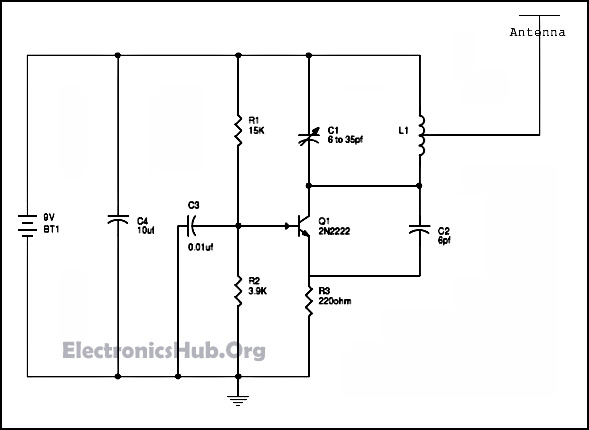 circuit diagram jammer