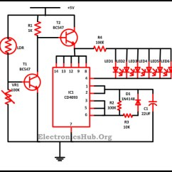 T1 Line Wiring Diagram 2005 Chevy Silverado 2500hd Radio Led Christmas Lights Circuit And Working