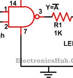 nand circuit diagram only [ 1280 x 720 Pixel ]
