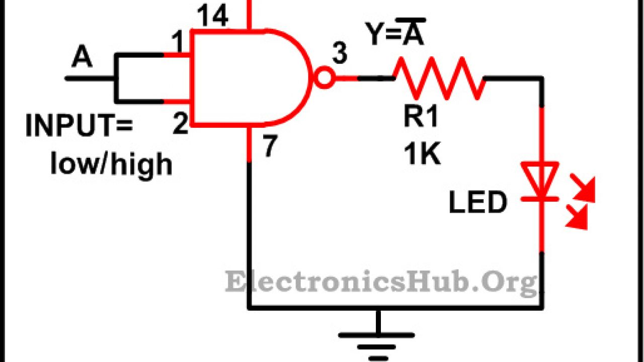 hight resolution of nand circuit diagram only