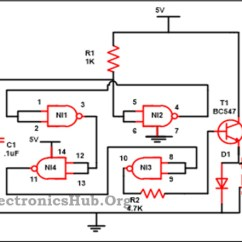 Wiring Diagram For House Alarm System Studio Portrait Luggage Security Project Circuit Using Logic Gates