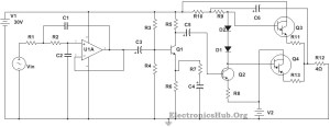 100W Subwoofer Amplifier Circuit Diagram, Working and