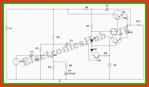 150 Watt Power Amplifier Circuit Diagram, Working and Applications