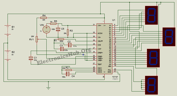 Auto Voltmeter Diagram Wiring