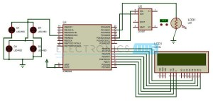 Auto Intensity Control of Street Lights Circuit using