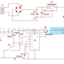 555 Timer Wiring Diagram Hvac Diagrams Troubleshooting Automatic Changeover Switch Circuit Using