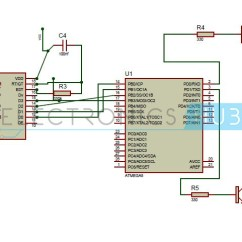 Wiring Diagram For Home Automation Electric Motor Capacitor System Dtmf Based Using Microcontrollerdtmf Microcontroller Circuit