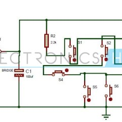 Full Wave Bridge Rectifier Wiring Diagram 2005 Ford F150 Car Stereo One Transistor Electronic Code Lock System Circuit