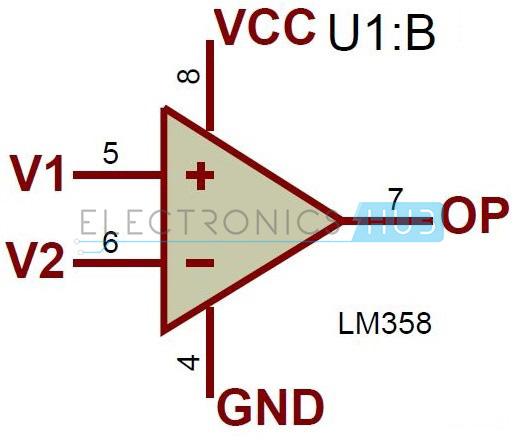 circuit diagram of non inverting amplifier air ride suspension valve super sensitive intruder alarm using ir and 555 timer
