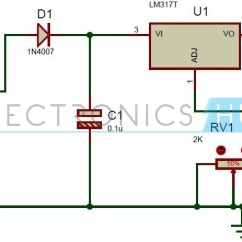 Mobile Block Diagram Circuit Vw Lupo Wiring Solar Battery Charger Using Lm317 Voltage Regulator
