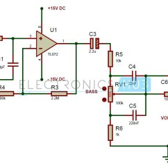 100k Dual Ganged Stereo Volume Control Wiring Diagram 7 Wire Trailer Cable Potentiometer Controls Manual E Books Simple Audio Tone Circuitaudio Circuit