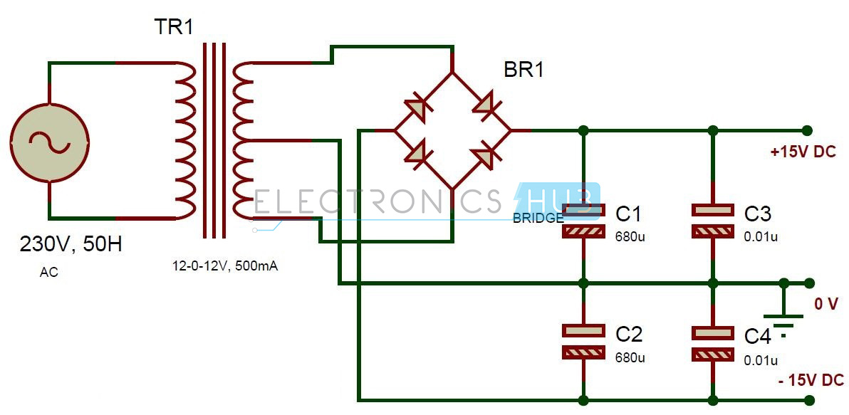 Active Audio Crossover Circuit Electronic Filter Circuits