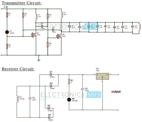 small resolution of wireless power transfer circuit wireless mobile charger free circuit diagrams 4u battery charger circuit using scr