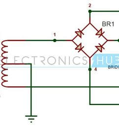 full wave bridge rectifier circuit working and applications simple bridge rectifier circuit diagram electronic circuit diagrams [ 1280 x 720 Pixel ]