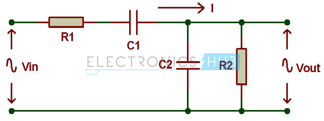 Passive Rc Band Pass Filter Circuit Diagram Electronics Hub