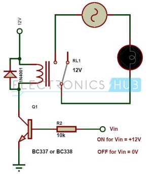 Types of Relays and Relay Driver Circuit | Buchholz Relay