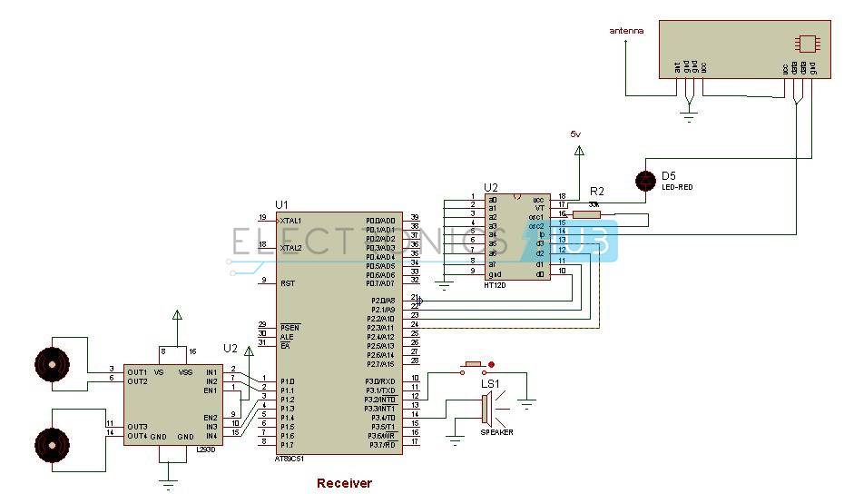 Ic Cs209a Metal Detector Circuit Diagram