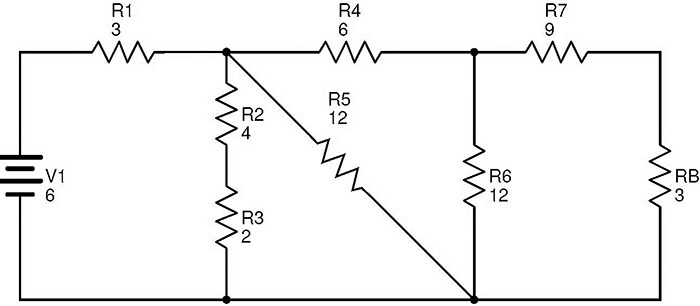 equivalent resistance circuit examples