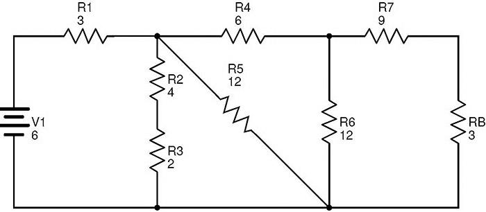 circuit diagram resistors in parallel