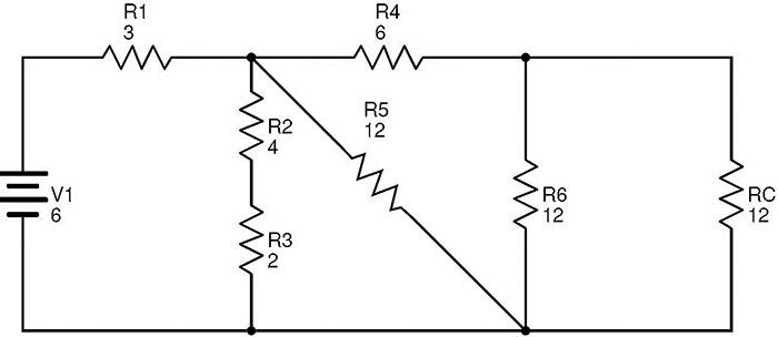 equivalent resistance circuit