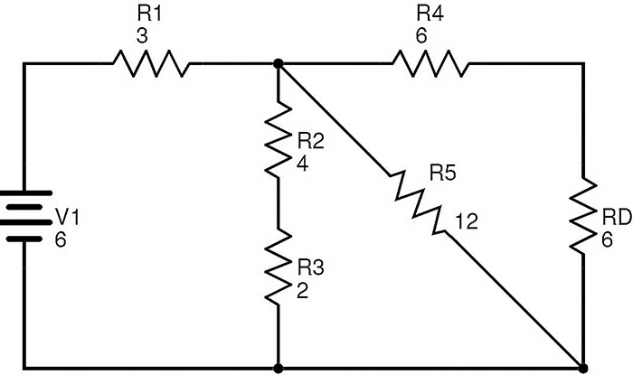 resistance for parallel circuit