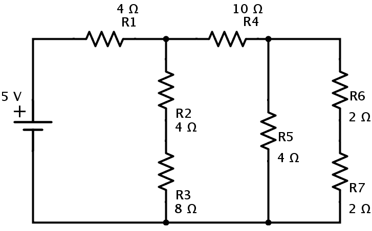 parallel and series circuits examples