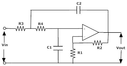 rc circuit low pass filter
