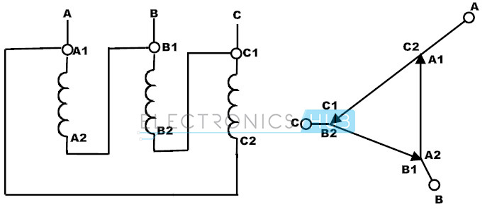 3 phase autotransformer wiring diagram two way switch connection auto transformer starter and variable 8 schematic of a three vector