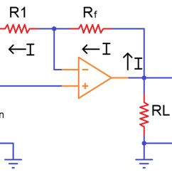 Circuit Diagram Of Non Inverting Amplifier Power Pole Wiring Operational Amplifiers Working And Applications Image 1