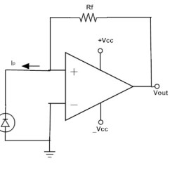 Circuit Diagram Of Non Inverting Amplifier 6 Way Horse Trailer Wiring Operational Amplifiers Working And Applications The A Basic Trans Impedance Is Shown In Above Figure Photodiode Connected To Input Terminal