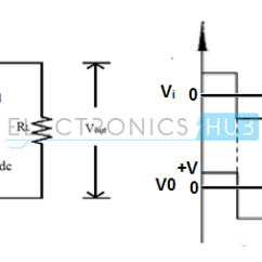Circuit Diagram Of Clipper And Clamper O2 Sensor Wiring Chevy Diode Circuits Types Applications
