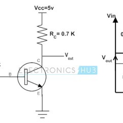 Transistor Wiring Diagram S Plan Heating System Am2 Working Of As A Switch Npn And Pnp Transistors Example