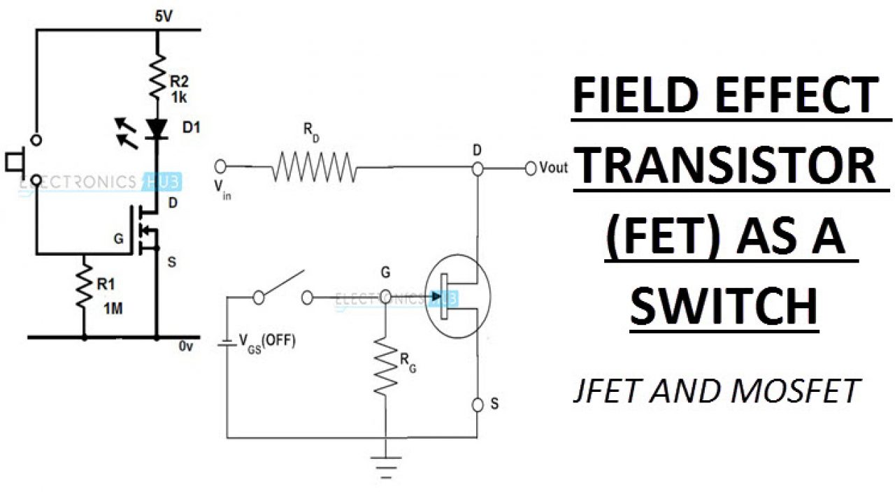 Transistor Mosfet Vs Jfet