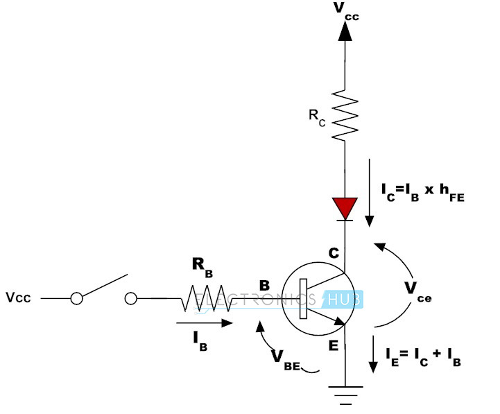 npn transistor amplifier circuit